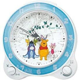 セイコー SEIKO 目覚まし時計 くまのプーさん 白パール FD462W [アナログ]