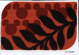 スミノエ SUMINOE 玄関マット ミッキー/ローレル(50×80cm/ワイン)【日本製】[DMM402650X80]