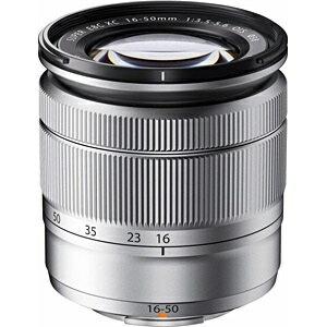 【送料無料】 フジフイルム FUJIFILM 交換レンズ XC16-50mmF3.5-5.6OIS【FUJIFILMXマウント】(シルバー) [生産完了品 在庫限り][FXC1650MMF3.55.6OISS]