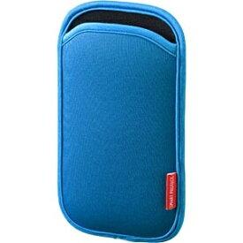 サンワサプライ SANWA SUPPLY 5インチスマートフォン用[幅 75mm/5インチ] マルチスマートフォンケース (ブルー) PDA-SPC9BL[PDASPC9BL]