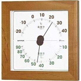 エンペックス EMPEX INSTRUMENTS TM-763 温湿度計 ウエストン ナチュラル [アナログ][TM763]