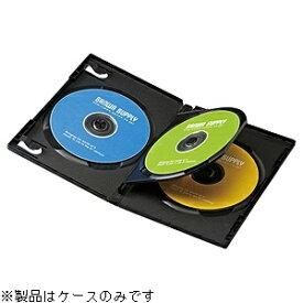 サンワサプライ SANWA SUPPLY Blu-ray/DVD/CD対応トールケース 3枚収納×10 ブラック DVD-TN3-10BK[DVDTN310BK]
