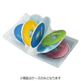 サンワサプライ SANWA SUPPLY DVD/CD対応トールケース 8枚収納×3 クリア DVD-TW8-03C[DVDTW803C]