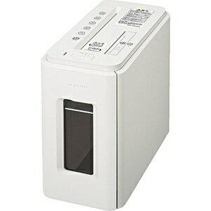 コクヨ KPS-MX100W 電動シュレッダー Silent-Duo(サイレント・デュオ) ノーブルホワイト [クロスカット /A4サイズ /CDカット対応][KPSMX100W]