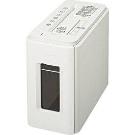 コクヨ KOKUYO KPS-MX100W 電動シュレッダー Silent-Duo(サイレント・デュオ) ノーブルホワイト [クロスカット /A4サイズ /CDカット対応][KPSMX100W]