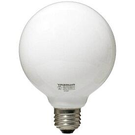ヤザワ YAZAWA GW100V38W95 白熱球 ホワイト [E26 /電球色 /1個 /40W相当 /ボール電球形][GW100V38W95]