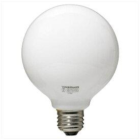 ヤザワ YAZAWA GW100V57W95 白熱球 ホワイト [E26 /電球色 /1個 /60W相当 /ボール電球形][GW100V57W95]