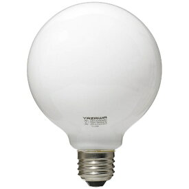 ヤザワ YAZAWA GW100V90W95 白熱球 ホワイト [E26 /電球色 /1個 /100W相当 /ボール電球形][GW100V90W95]