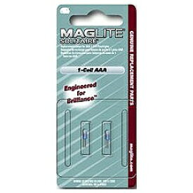 MAGLITE マグライト ミニマグライト ソリテール用 交換球(2コ入) LK3A001