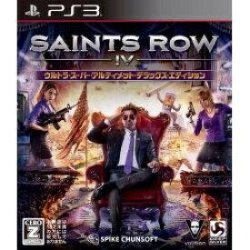 スパイクチュンソフト Spike Chunsoft セインツロウ IV ウルトラ・スーパー・アルティメット・デラックス・エディション【PS3】