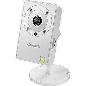 【送料無料】 IOデータ 【スマホ/タブレット対応】ネットワークカメラ[無線&有線LAN・100万画素] Qwatch(クウォッチ) マイク&スピーカー搭載 TS-WLC2[TSWLC2]