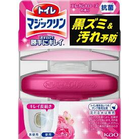 花王 Kao トイレマジックリン 流すだけで勝手にキレイ ローズせっけんの香り 本体 80g 〔トイレ用洗剤〕