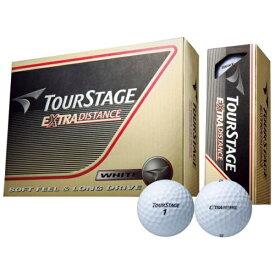 ブリヂストン BRIDGESTONE ゴルフボール EXTRA DISTANCE ホワイト TEWX [12球(1ダース) /ディスタンス系]【オウンネーム非対応】