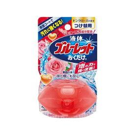 小林製薬 Kobayashi 液体ブルーレットおくだけ ピンクローズの香り 無色の水 つめかえ用〔トイレ用洗剤〕【rb_pcp】