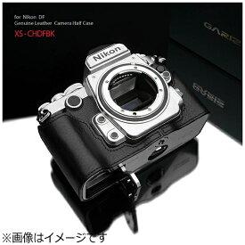 GARIZ ゲリズ 本革カメラケース 【ニコン Df用】(ブラック) XS-CHDFBK[XSCHDFBK]
