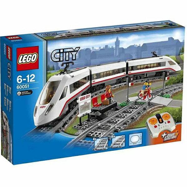 【送料無料】 レゴジャパン LEGO(レゴ) 60051 シティ ハイスピードパッセンジャートレイン 【代金引換配送不可】