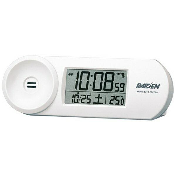セイコー 電波目覚まし時計 NR532W(白)[NR532W]