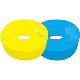 トラスコ中山 手締用PPバンド 15.5mmX1000m巻 段ボールパック 黄 TPP155YD