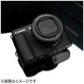 Kカンパニー 本革カメラケース 【キヤノン PowerShot G1 X Mark II用】(ブラック) XS-CHG1X2BK[XSCHG1X2BK]