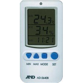 A&D エー・アンド・デイ 温度湿度アラーム付き温湿度計 AD5640B