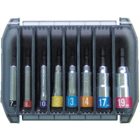 トップ工業 TOP工業 コンパクトソケット8ホンセット EDS719CS