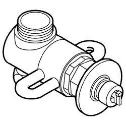 パナソニック Panasonic 食器洗い乾燥機用 分岐水栓 CB-F6[CBF6] panasonic