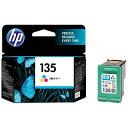 HP 【純正】 HP135 プリントカートリッジ (3色カラー) C8766HJ[C8766HJHP135]