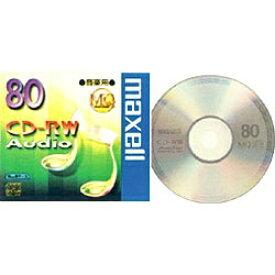 マクセル Maxell CDRWA80MQ1TP 音楽用CD-RW [1枚][CDRWA80MQ1TP]