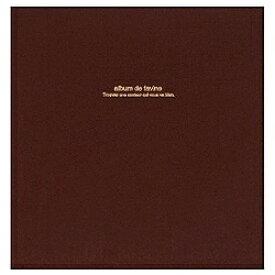 ナカバヤシ Nakabayashi 100年台紙「ドゥファビネ」 (Lサイズ/ブラウン) アH-LD-191-S[アHLD191S]
