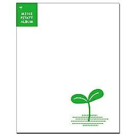 ハクバ HAKUBA アルバム 「ミニピタットアルバム・双葉ホワイト」(L・KG・ポストカードサイズ) 524338