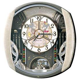セイコー SEIKO からくり時計 【Disney Time(ディズニータイム)ミッキー&フレンズ】 薄ピンクマーブル模様 FW563A [電波自動受信機能有][FW563A]