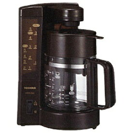 東芝 TOSHIBA HCD-5MJ コーヒーメーカー ブラウン[HCD5MJ]