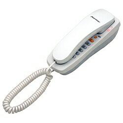 パイオニア 【子機なし】ノーマル電話機 TF-08-W(パールホワイト)[TF08]