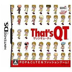 コーエーテクモゲームス KOEI That's QT【DS】