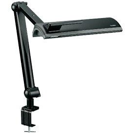 ツインバード TWINBIRD LK-H766B クランプ式スタンドライト ブラック [蛍光灯][LKH766B]