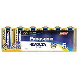 パナソニック Panasonic LR14EJ/6SW LR14EJ/6SW 単2電池 EVOLTA(エボルタ) [6本 /アルカリ][LR14EJ6SW] panasonic