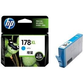 HP ヒューレット・パッカード CB323HJ 純正プリンターインク 178XL シアン[CB323HJ]