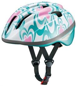 OGK 子供用ヘルメット ジェイ・クレス ツー(フラワーブルー/54-56cm)