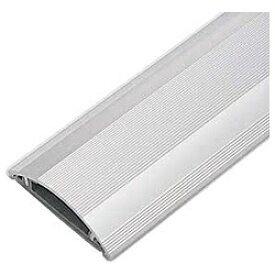 サンワサプライ SANWA SUPPLY 床配線用 アルミケーブルカバー (長さ1m×幅70mm・シルバー) CA-A70[CAA70]