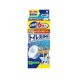 小林製薬 Kobayashi トイレ洗浄中 6錠〔トイレ用洗剤〕【rb_pcp】