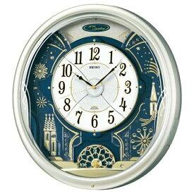 セイコー SEIKO からくり時計 【ウェーブシンフォニー】 薄金色パール RE561H [電波自動受信機能有]
