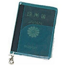 JTB SWT パスポートカバー クリア 緑[0302615]