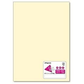 長門屋商店 NAGATOYA カラーペーパー 中厚口 レモン (A5サイズ・100枚) ナ-5202[ナ5202]【wtcomo】