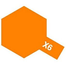 タミヤ TAMIYA タミヤカラー アクリルミニ X-6 オレンジ【rb_pcp】