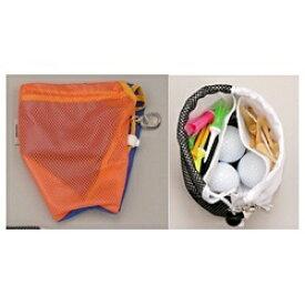 ダイヤコーポレーション DAIYA CORPORATION ゴルフ用品 メッシュポケット(オレンジ) AS-446[AS446OR]