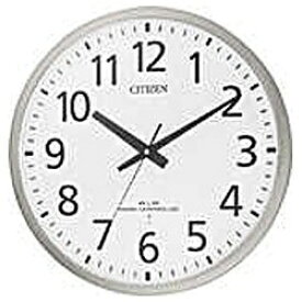 シチズン CITIZEN 掛け時計 【スペイシーM463】 銀メタリック 8MY463-019 [電波自動受信機能有][8MY463019]