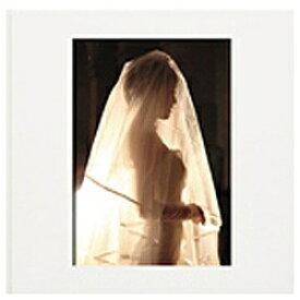 チクマ Chikuma ブックタイプ写真台紙 「Newハートスケープ(表紙窓付)」(2L・6P/ホワイト)
