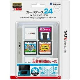 HORI ホリ カードケース24 for ニンテンドー3DS(クリア)【3DS】