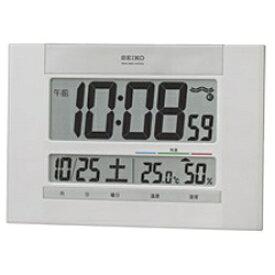 セイコー SEIKO 掛け置き兼用時計 白パール SQ429W [電波自動受信機能有]