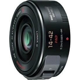 パナソニック Panasonic カメラレンズ LUMIX G X VARIO PZ 14-42mm/F3.5-5.6 ASPH./ POWER O.I.S. LUMIX(ルミックス) ブラック H-PS14042-K [マイクロフォーサーズ /ズームレンズ][HPS14042K]